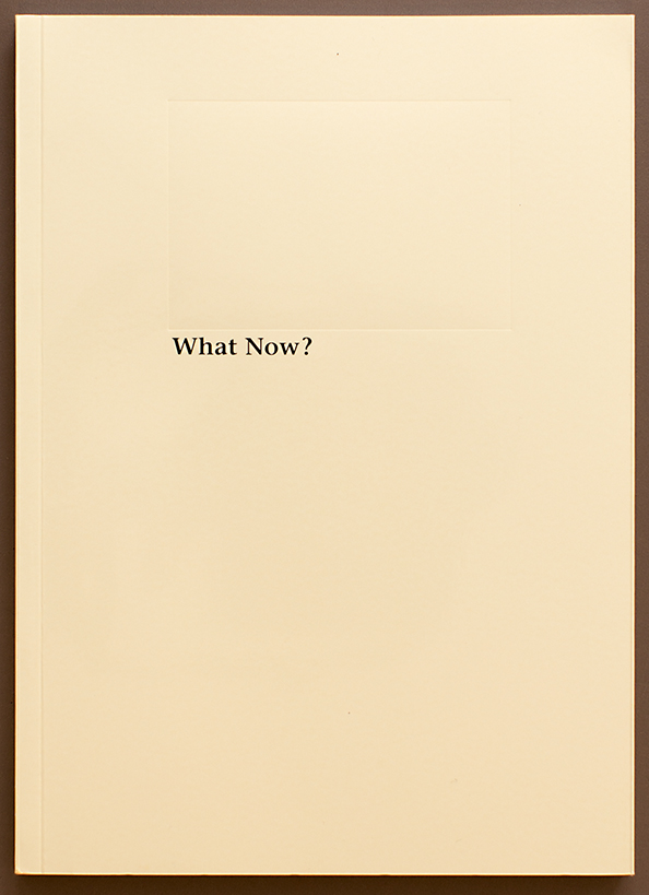 C+S_Buchcover_What Now